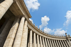 Famous colonnade Stock Photos