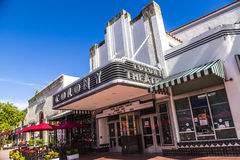 Famous Colony Art Deco Theater royalty free stock photography