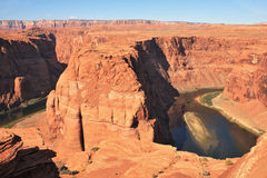 The famous Colorado River Royalty Free Stock Images