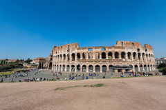 Famous colosseum on bright Royalty Free Stock Photography