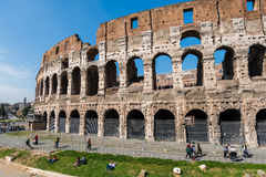 Famous colosseum Royalty Free Stock Photos