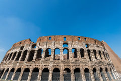 Famous colosseum on bright Stock Images