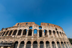 Famous colosseum Royalty Free Stock Image