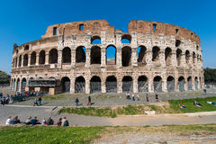 Famous colosseum Stock Photography