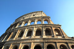 Famous Colosseum or Coliseum Stock Image