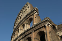 Famous Colosseum or Coliseum Royalty Free Stock Photography