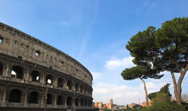 Famous Colosseum or Coliseum Royalty Free Stock Image