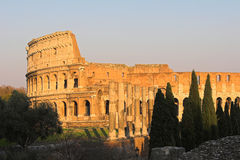 Famous Colosseum or Coliseum i Stock Image