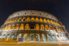 Famous colosseum during Stock Image