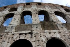 Famous Colosseum - Flavian Amphitheatre, Rome, Ita Royalty Free Stock Photos