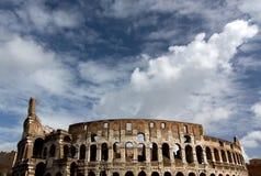 Famous Colosseum - Flavian Amphitheatre, Rome, Ita Stock Image