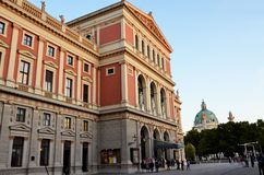 The famous concert house in Vienna Royalty Free Stock Photo
