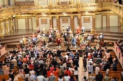 The famous concert house of Vienna Royalty Free Stock Photo