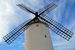 Famous Consuegra Windmill royalty free stock image