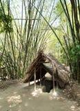 Famous Cu Chi tunnels. Vietnam stock photos