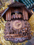 Famous Cuckoo Clock From The Black Forest  Germany Royalty Free Stock Image