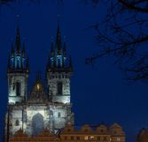 Famous Czech cathedral Stock Image