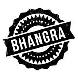 Famous dance style, Bhangra stamp Royalty Free Stock Images