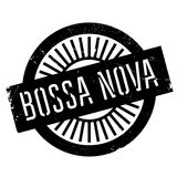 Famous dance style, Bossa Nova stamp Stock Photo