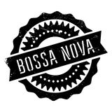Famous dance style, Bossa Nova stamp Royalty Free Stock Photo