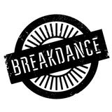 Famous dance style, Breakdance stamp Royalty Free Stock Image