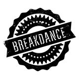 Famous dance style, Breakdance stamp Stock Images