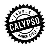Famous dance style, Calypso stamp Stock Image