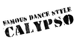 Famous dance style, Calypso stamp Stock Photos