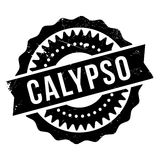 Famous dance style, Calypso stamp Stock Photography
