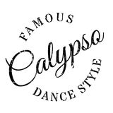 Famous dance style, Calypso stamp Royalty Free Stock Photography