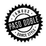 Famous dance style, Paso Doble stamp Stock Photos