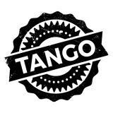 Famous dance style, tango stamp Royalty Free Stock Photography