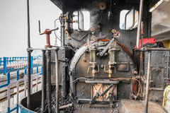 Darjeeling steam train. Famous Darjeeling steam train was Built between 1879 and 1881 and now is World Heritage Site by UNESCO, India Stock Photo
