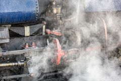 Darjeeling steam train Stock Photo