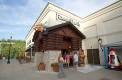 Famous Dave's BBQ at the Branson Landing, Downtown Missouri Royalty Free Stock Photography