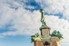 Famous David sculpture at Florence. Stock Photos