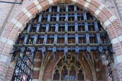 The famous De Haar castle detail stock photos