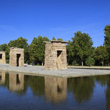 Famous Debod Temple Stock Images