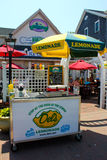 Famous Del's Lemonade Stand on Block Island Stock Photos