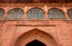 Famous Delhi Red Fort Stock Images