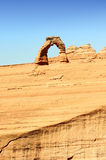 Famous Delicate Arch Royalty Free Stock Photography