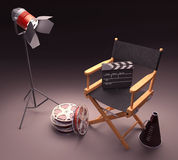 Famous Director Stock Images