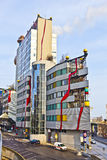Famous District heating plant in Vienna designed by Friedensreich Hundertwasser Stock Photography
