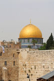 Famous Dome of the Rock mosque in Jerusalem Stock Photos