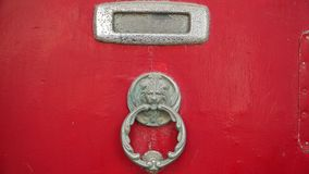 Famous door handles in the ancient city of Valletta, Malta. Famous door handles in the ancient city of Valletta, Malta Stock Photo