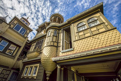 Famous Door to Nowhere at the Winchester Mystery House Stock Image