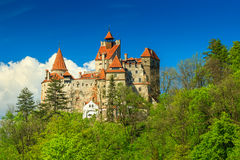 The famous Dracula castle,Bran,Transylvania,Romania Royalty Free Stock Photo