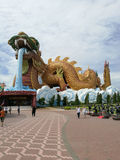 The famous dragon village in Thailand. Stock Image