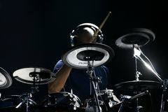 Drummer artist Omar Hakim Royalty Free Stock Photography