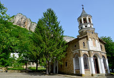 Famous Dryanovo St. archangel Michael monastery Royalty Free Stock Photography